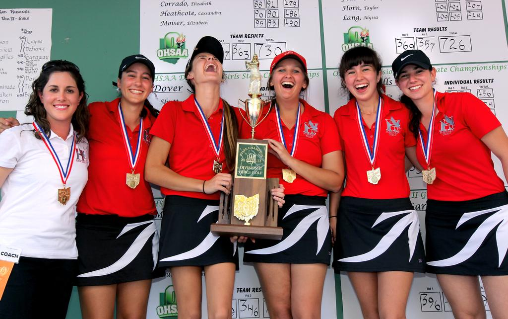 Girls hs state golf champions