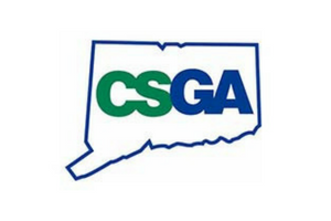 Connecticut state golf association logo