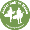 Junior golf of maine logo