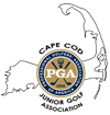 Cape cod junior golf association logo