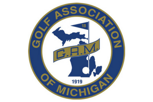 Golf association of michigan logo