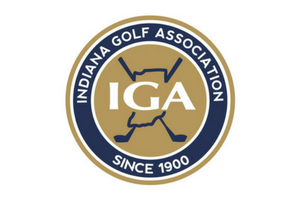 Indiana golf association logo