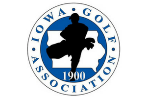 Iowa golf association logo
