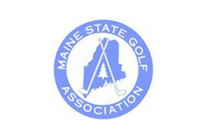 Maine state golf association logo