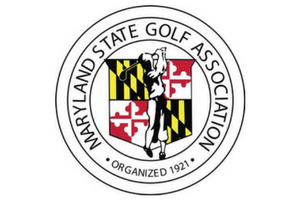 Maryland state golf association logo
