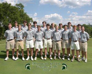 Mountain Brook Varsity Golf Team