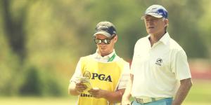 Caddying at Senior PGA Championship