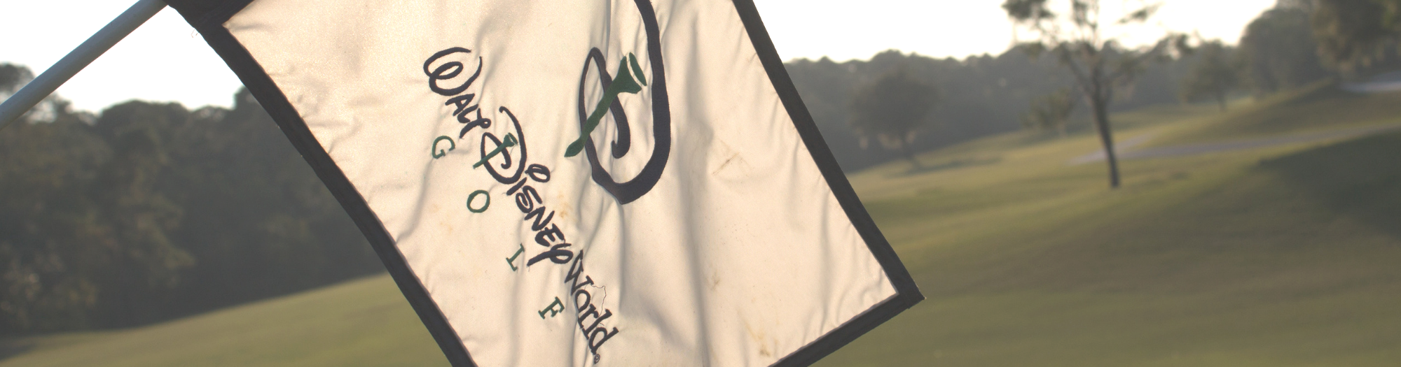 Disney Golf Resort Golf Flag