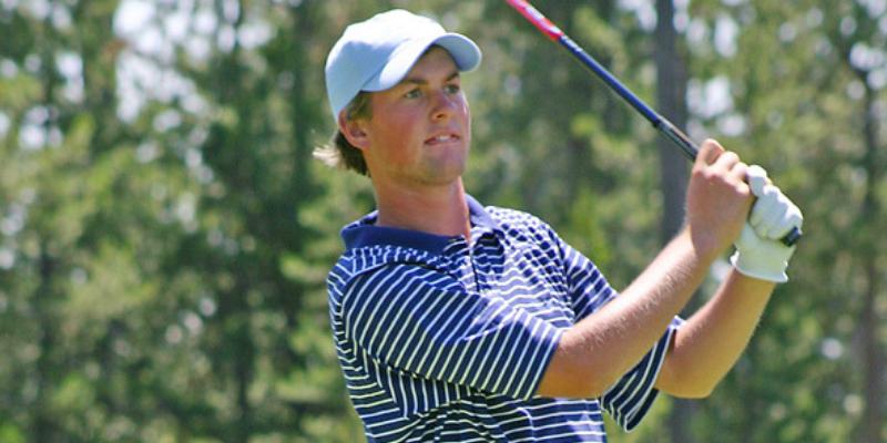 Webb Simpson high school golf