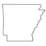 Arkansas state outline