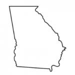 Georgia state outline