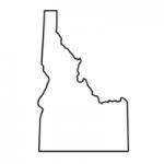 Idaho state outline