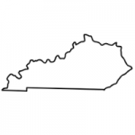 Kentucky state outline