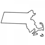 Massachuetts state outline