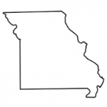 Missouri state outline
