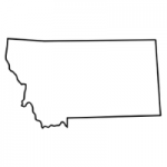 Montana state outline