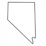 Nevada state outline