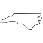North Carolina state outline