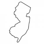 New Jersey state outline