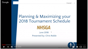 Planning-and-Maximizing-A-Junior-Golf-Schedule