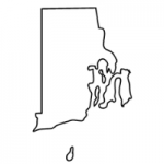 Rhode Island state outline