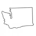 Washington state outline