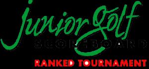 Junior Golf Scoreboard ranked tournament